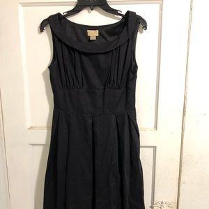 Mid black dress
